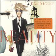 Click here for more info about 'David Bowie - Reality'