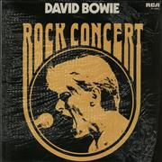 Click here for more info about 'David Bowie - Rock Concert - Mint'