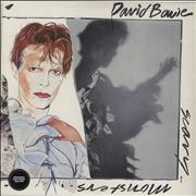 Click here for more info about 'David Bowie - Scary Monsters - 180gram Vinyl + Sealed'