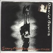 """David Bowie Scary Monsters (And Super Creeps) - 4pr UK 7"""" vinyl"""