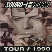 Click here for more info about 'Sound + Vision 'Tour + 1990' + Ticket Stub'