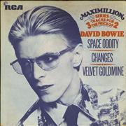 Click here for more info about 'David Bowie - Space Oddity - P/S - EX'