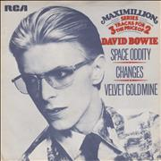 Click here for more info about 'David Bowie - Space Oddity - P/S'