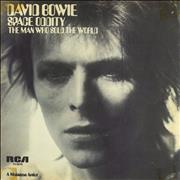 Click here for more info about 'David Bowie - Space Oddity - Tan Label + P/S - EX'