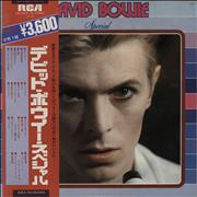 Click here for more info about 'David Bowie - Special + obi'