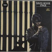 Click here for more info about 'David Bowie - Stage - 180gram Vinyl + Sealed'