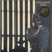 Click here for more info about 'David Bowie - Stage - Yellow Vinyl - stickered p/s'