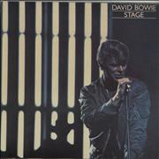 Click here for more info about 'David Bowie - Stage - Yellow Vinyl'