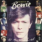 Click here for more info about 'David Bowie - The Best Of Bowie - Tracklisting Sticker'