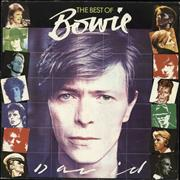 Click here for more info about 'David Bowie - The Best Of Bowie - Blue label'
