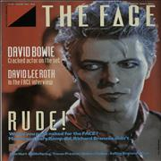 Click here for more info about 'David Bowie - The Face'