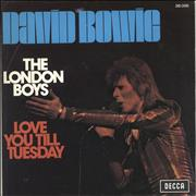 Click here for more info about 'David Bowie - The London Boys'