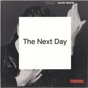 David Bowie The Next Day - Red Vinyl + CD UK 2-LP vinyl set
