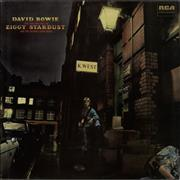 David Bowie The Rise And Fall Of Ziggy Stardust & The Spiders From Mars UK vinyl LP
