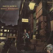 David Bowie The Rise And Fall Of Ziggy Stardust - 1st - VG UK vinyl LP