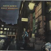 Click here for more info about 'The Rise And Fall Of Ziggy Stardust And The Spiders From Mars - Tan label'