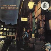 Click here for more info about 'David Bowie - The Rise And Fall Of Ziggy Stardust - Stickered'