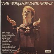 Click here for more info about 'David Bowie - The World Of - Black & White label'