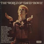 Click here for more info about 'David Bowie - The World Of - Ziggy Sleeve - front lam'