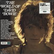 Click here for more info about 'David Bowie - The World Of David Bowie - RSD19 - 180gm Blue Vinyl - Sealed'