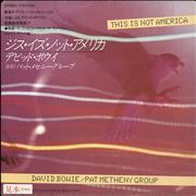 Click here for more info about 'David Bowie - This Is Not America'