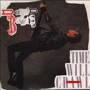 Click here for more info about 'David Bowie - Time Will Crawl - Poster Sleeve'