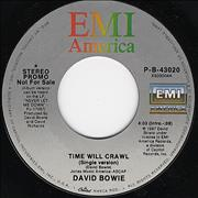 Click here for more info about 'David Bowie - Time Will Crawl'