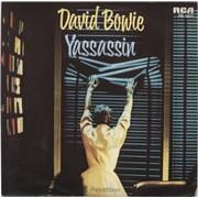 "David Bowie Yassassin Netherlands 7"" vinyl"