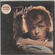 Click here for more info about 'David Bowie - Young Americans - stickered shrink'