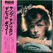 David Bowie Young Americans Japan vinyl LP