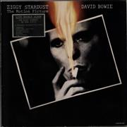 Click here for more info about 'Ziggy Stardust - The Motion Picture - stickered p/s'