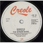 "David Byron Rebecca UK 7"" vinyl"