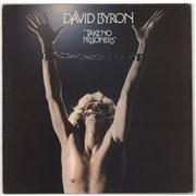 David Byron Take No Prisoners - EX UK vinyl LP