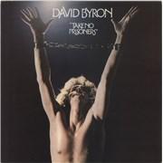 David Byron Take No Prisoners UK vinyl LP