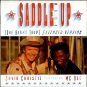 Click here for more info about 'David Christie - Saddle Up 1990'