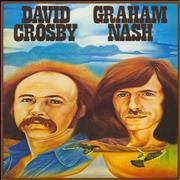 Click here for more info about 'David Crosby Graham Nash + Ticket Stub'