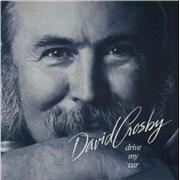 "David Crosby Drive My Car UK 12"" vinyl"