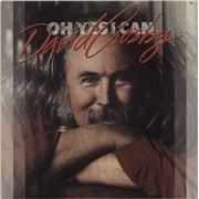 David Crosby Oh Yes I Can USA vinyl LP