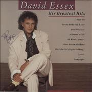 Click here for more info about 'David Essex - His Greatest Hits - Autographed'