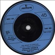 Click here for more info about 'David Essex - Oh What A Circus'