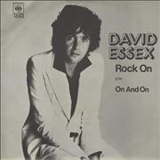 Click here for more info about 'David Essex - Rock On - P/S'