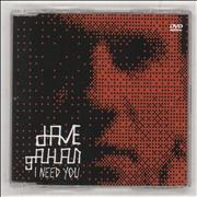 Click here for more info about 'David Gahan - I Need You'