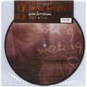 """David Gahan Saw Something / Deeper + Deeper UK 7"""" picture disc"""