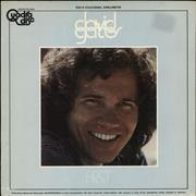 Click here for more info about 'David Gates - First - CD-4 Quad'