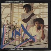 Click here for more info about 'David Grant - Don't Hit Me With Love'