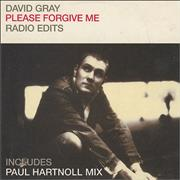 Click here for more info about 'David Gray - Please Forgive Me - Radio Edits'