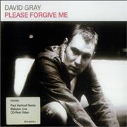 Click here for more info about 'David Gray - Please Forgive Me'