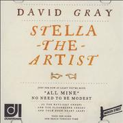 Click here for more info about 'David Gray - Stella The Artist'