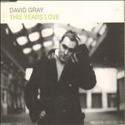 Click here for more info about 'David Gray - This Years Love'