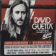 Click here for more info about 'David Guetta - Listen Again - Sealed'